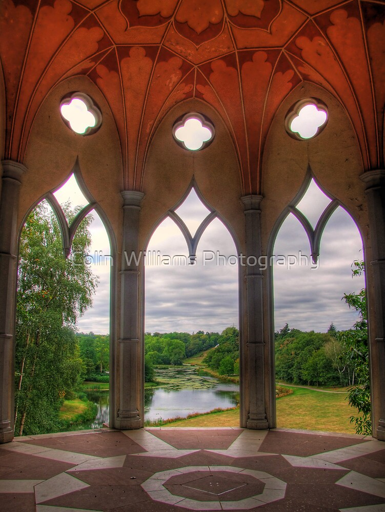 The White Tower - Painshill Park - HDR by Colin  Williams Photography