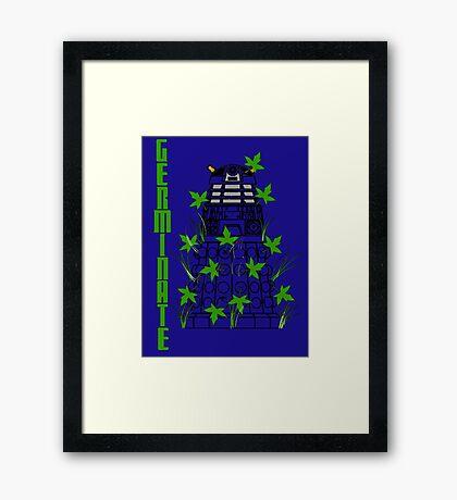 Germinate - Dr Who Framed Print