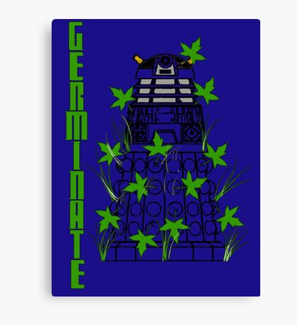Germinate - Dr Who Canvas Print