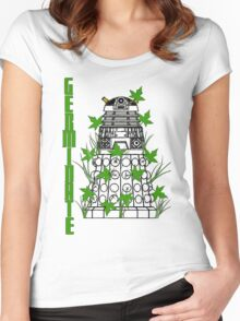 Germinate - Dr Who Women's Fitted Scoop T-Shirt