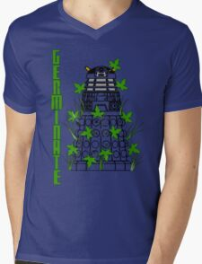 Germinate - Dr Who Mens V-Neck T-Shirt
