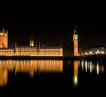 Houses of Parliament by Mario Curcio