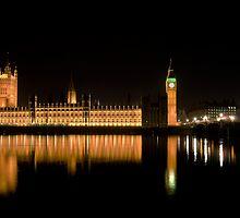 Houses of Parliament by Mario Curcio
