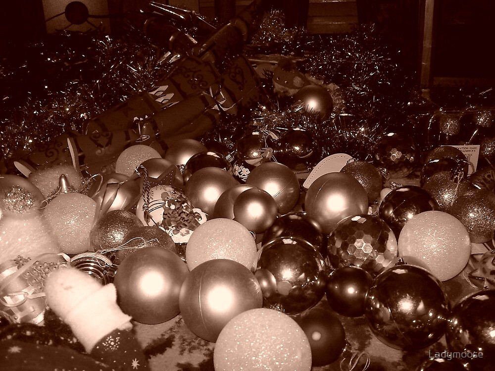 Sepia Christmas by Ladymoose