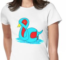 Duck Womens Fitted T-Shirt