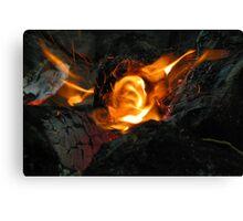 Hot, hot, hot! Canvas Print