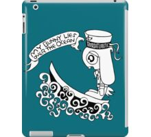 Bunny Over The Ocean  iPad Case/Skin