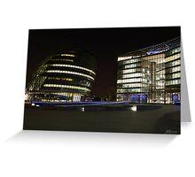 London City Hall Greeting Card