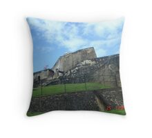 The Old Fort in San Juan Throw Pillow