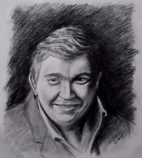 John Candy Drawing by A. F. Branco