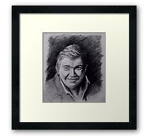 John Candy Drawing Framed Print