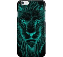 Turquoise Lion iPhone Case/Skin