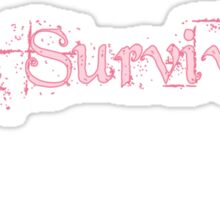 Im a Survivor Sticker