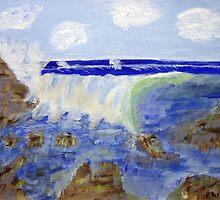 Crashing Waves by Phil Davis by CoastalCarolina