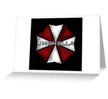 Umbrella Corporation Greeting Card