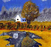 House in the Shadows by Phil Davis by CoastalCarolina