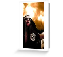 Zombie Bodybag Greeting Card