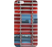 building with solar blinds iPhone Case/Skin