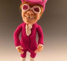Li'l Elton - Needle Felted Art Doll by feltalive