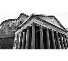 The Pantheon, Rome, Italy. Photographic Print