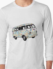 Summer of Love Campervan T-Shirt Long Sleeve T-Shirt