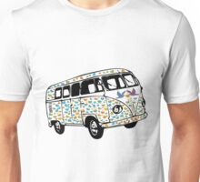 Summer of Love Campervan T-Shirt Unisex T-Shirt