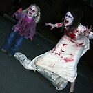 Zombie Bride and Child by Ollie Coghill