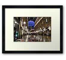 The Galleria [2] - Milano  Framed Print