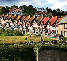 Fishermans Cottages by Stuart Jenkins
