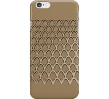 Gold Mesh Arches iPhone Case/Skin