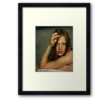 chipped polish Framed Print