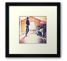 lonesome and decay Framed Print