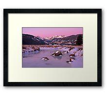 Moraine Park II Framed Print