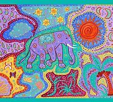 Elephant Dreamtime by happyhArt