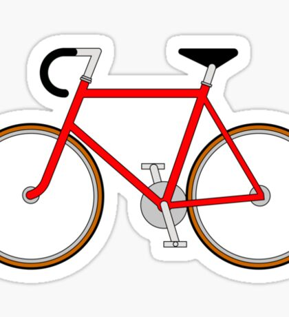 The Bicycle. Sticker