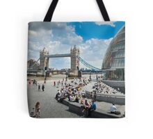 London City Hall and Tower Bridge Tote Bag