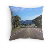 Road to Melrose  Throw Pillow