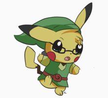 Pikachu Link! One Piece - Long Sleeve