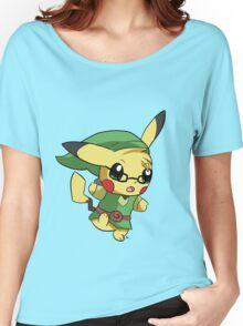Pikachu Link! Women's Relaxed Fit T-Shirt