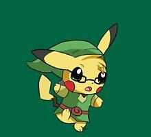 Pikachu Link! Unisex T-Shirt
