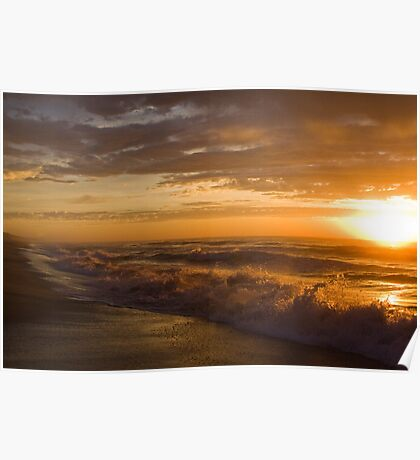 90 Mile Beach - Vic Australia Poster