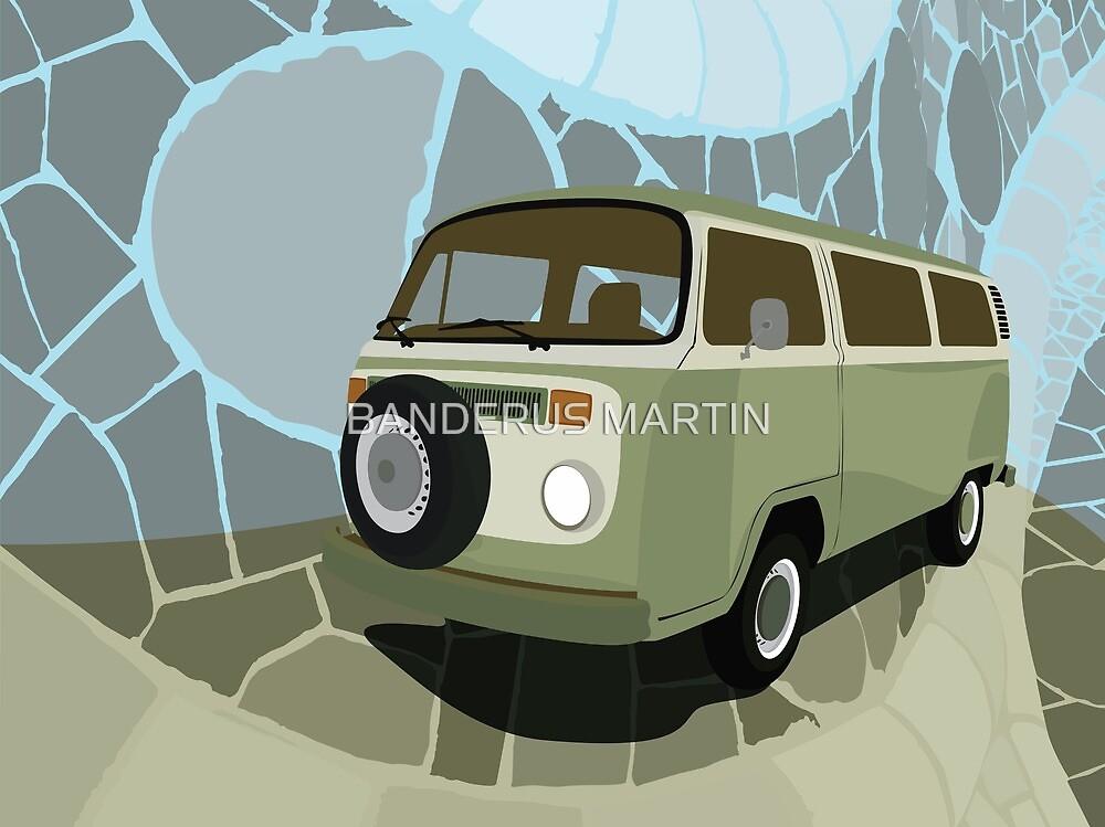 Volkswagen Combi by BANDERUS MARTIN