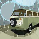 Volkswagen Combi by Honeyboy Martin