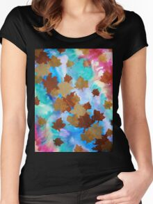 The Garden of Illusions Women's Fitted Scoop T-Shirt