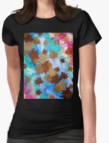 The Garden of Illusions Womens Fitted T-Shirt