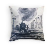 Sugar Cane Train............... Throw Pillow