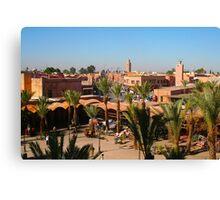 Postcard from Marrakech Canvas Print