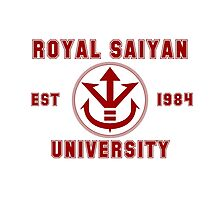 Royal Saiyan University Photographic Print