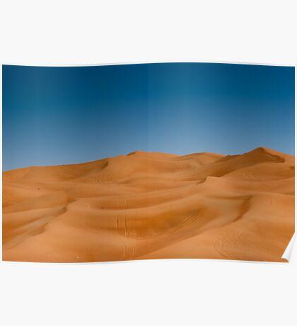 Desert Outside Dubai, UAE Poster