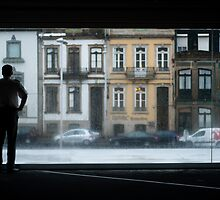 Rainy Day at the House of Music in Portugal by pdgoodman